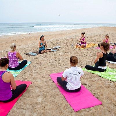 Beach Yoga Classes...