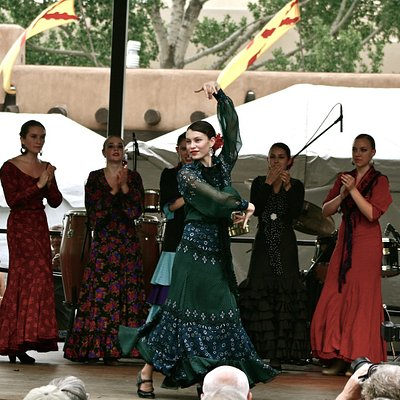 Flamenco in Santa Fe by ISA