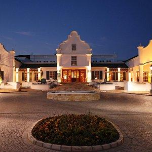 Golden Valley Casino - exterior at night