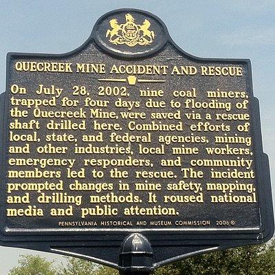 Quecreek historical marker