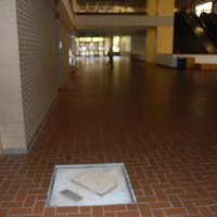 Just enter Posvar Hall and walk to the center of the ground floor to see home plate.