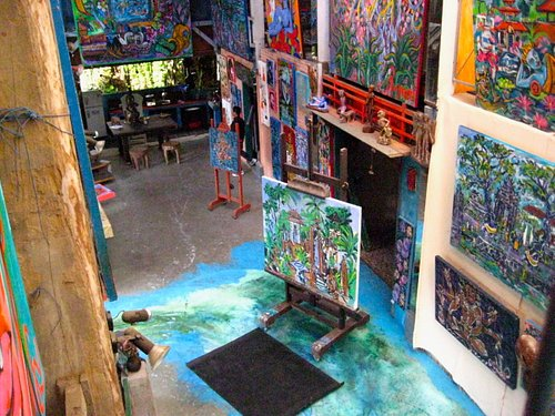 studio shot from above