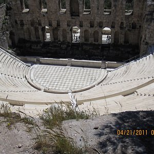 The Odeon of Herodus Atticus
