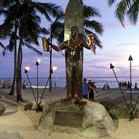 Statue Duke Kahanamoku