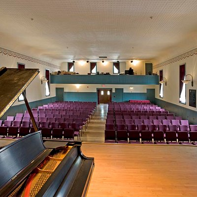 Interior view from stage