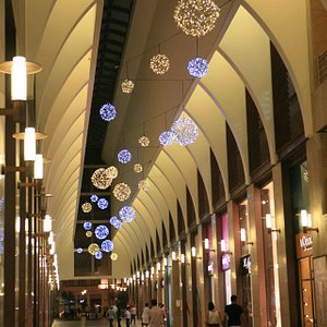 One of the Shopping streets in Beirut Souks