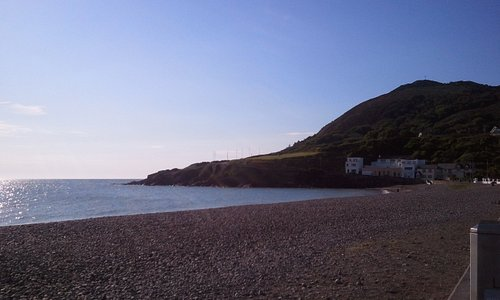 View of Bray Head from the harbour