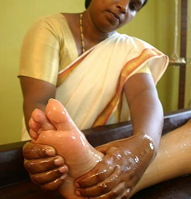 Massage at Ayurveda Kendra