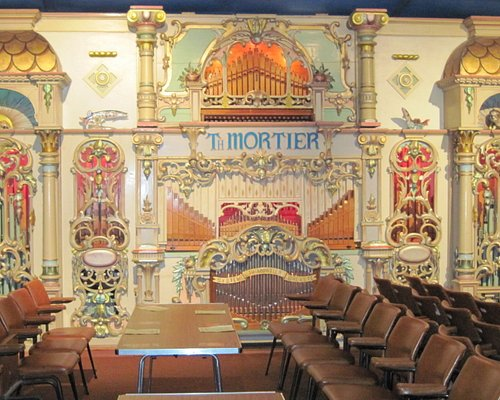Mortier Organ, The Four Columns