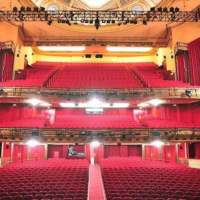 Patio de butacas, Club y Anfiteatro desde el escenario