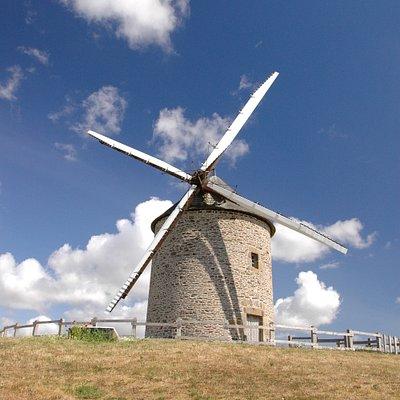 Moulin De Moidrey, berdseyeview@photostochplus.com