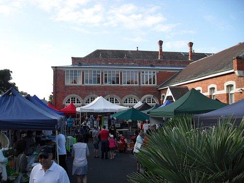 Saturday morning at Parnell Farmers' Market