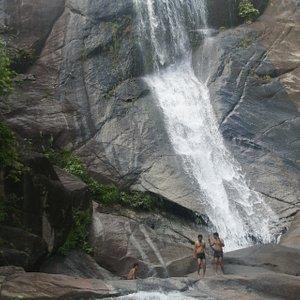 Telaga Tujuh Waterfalls