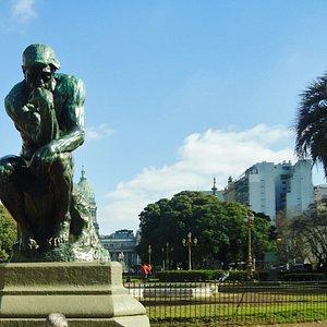 El Pensador,plaza Congreso ,Buenos Aires.