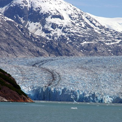 Glacier in Tracy Arm