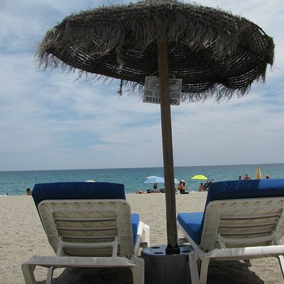 Lounge Chairs/Palapas Available for a Fee