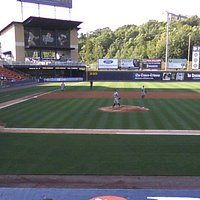 Game time at PNC Field.
