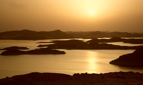 Lake Nasser sunset