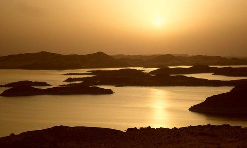 Lake Nasser sunset