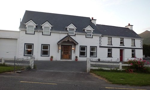 View of the front of the B&B