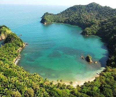 Puerto Caribe, Parque Nacional Jeannette Kawas.