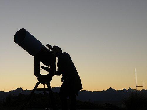 Viewing emerging stars, Mt John Observatory