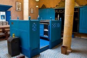 Die restaurierte Synagoge von Essaouira