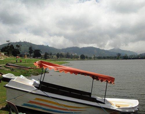 The boat yard.