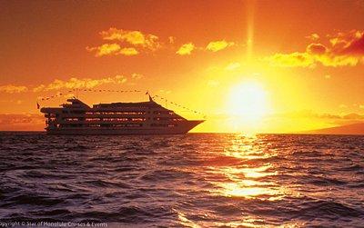 Star of Honolulu Sunset