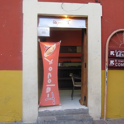 Front door of Xocola-T