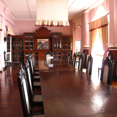 Dining Area Inside Syquia Mansion