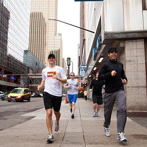 Downtown Minneapolis Running