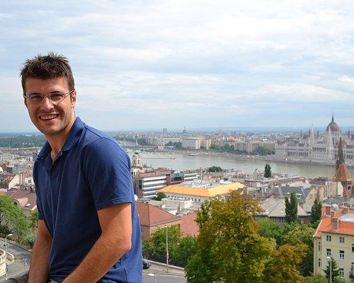 Me + Budapest panorama