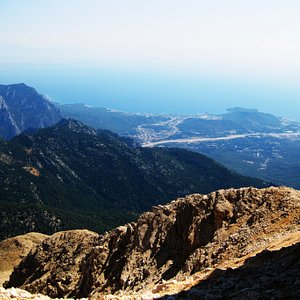 The view from the top of Tahtali