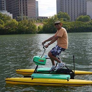 Austin Water Bikes, Lady Bird Johnson/Town Lake