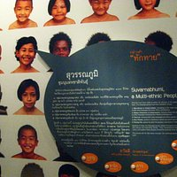 infographic dealing with ethnic diversity in ancient Thailand