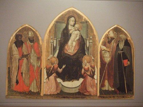マザッチョの「サン・ジョヴェナーレ三連祭壇画」