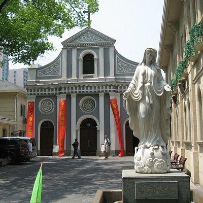 Immaculate Conception Catholic Church in Hangzhou