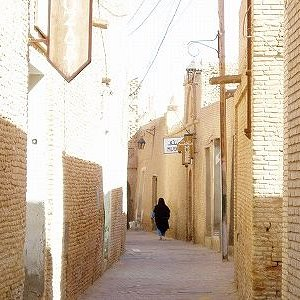 日干し煉瓦でできた旧市街