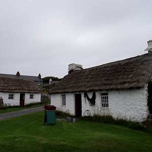 Harry Kelly's Cottage On The Right