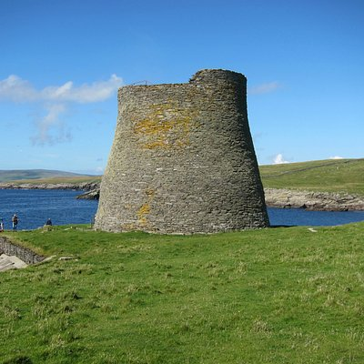 The only complete iron age broch in the world