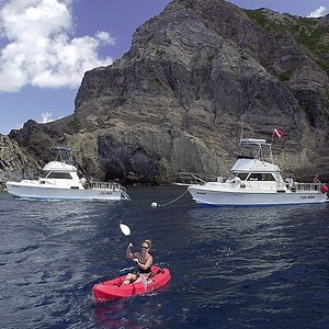 Sea Saba's boats