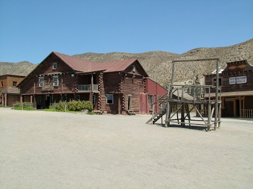 The ranch used in 'Once Upon a Time in the West'