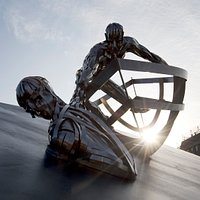 RNLI Memorial sculpture (Credit RNLI/Nigel Millard)