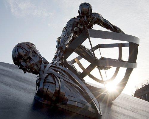 RNLI Memorial sculpture (Credit RNLI/Nigel Millard)