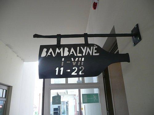 The Illusive Bambalyne sign
