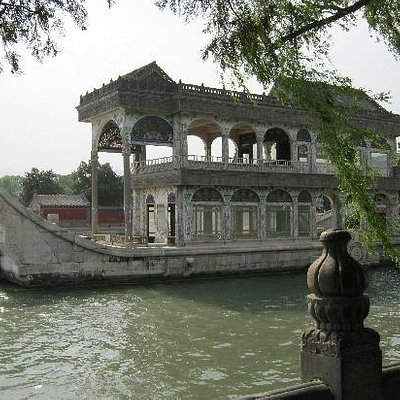 marble boat in summer palace