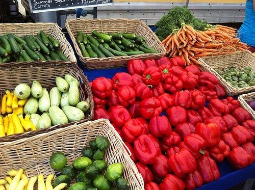 local organic produce