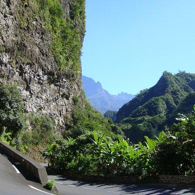 Road to Cilaos