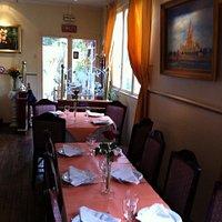 Salle de restaurant/Inside restaurant